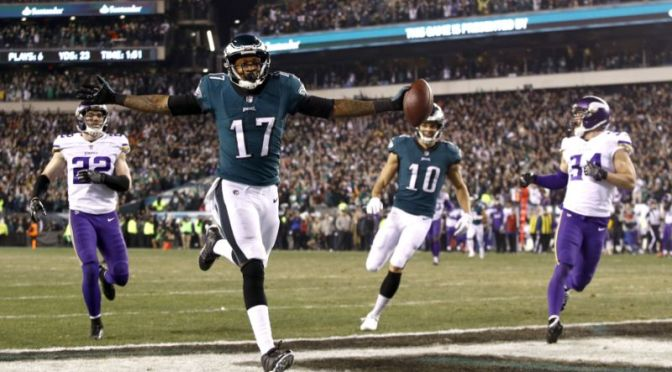 The #Eagles SHOCK the #Vikings! Headed to #SuperBowlLII! [details]