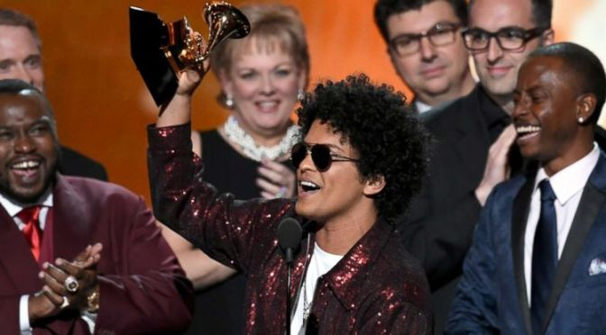 #Grammys: #BrunoMars SWEEPS! #JayZ SHUTOUT! The winners & losers! [full list]