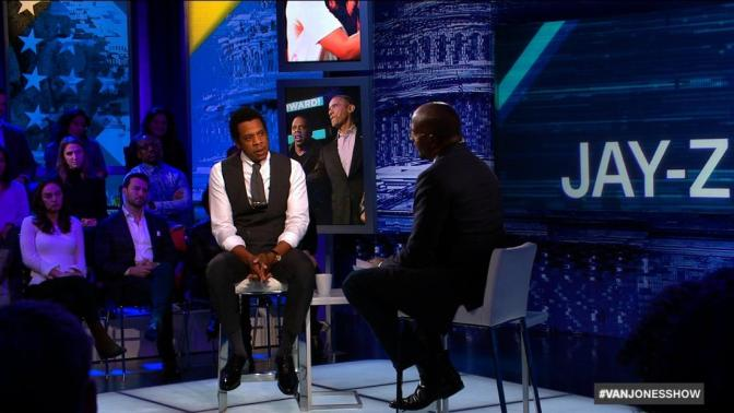 #JayZ speaks out about #Trump on #VanJonesshow! Trump tries to CLAP BACK! [vid]
