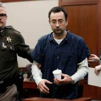 #LarryNassar plays VICTIM-says it's to hard to listen to his sexual assault accusers! [details]