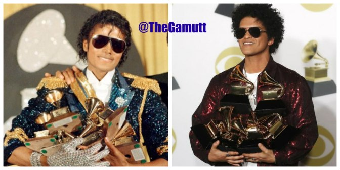 HOT SHOT of the DAY: #BrunoMars #GRAMMY magic!! [pics]