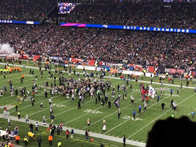 #TheNewEnglandPatriots are headed to #SuperBowlLII! [details]