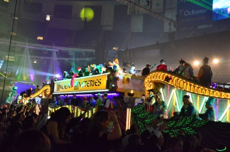 Krewe of Endymion Extravaganza 2013 in the Mercedes-Benz Superdome