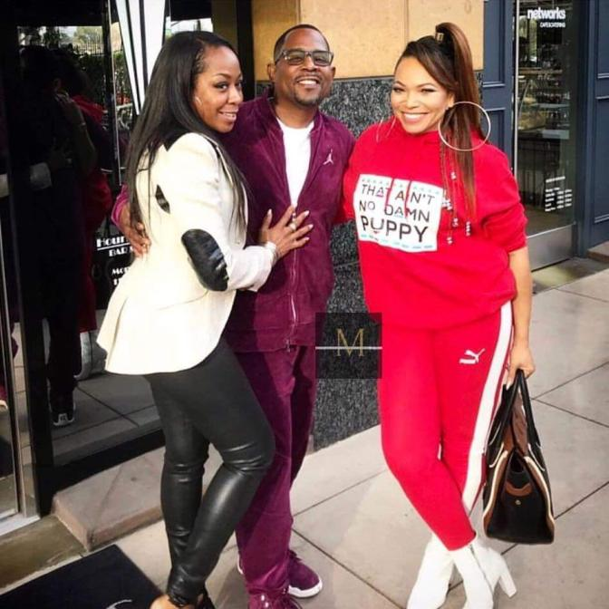 Star Tracks: 'Martin' cast spotted together! Remain TIGHT-LIPPED about a reboot! [vid]