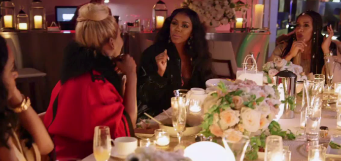 Door OPEN? #RHOA's #NeNeLeakes & #PorshaWilliams BACK TOGETHER!? [pics]