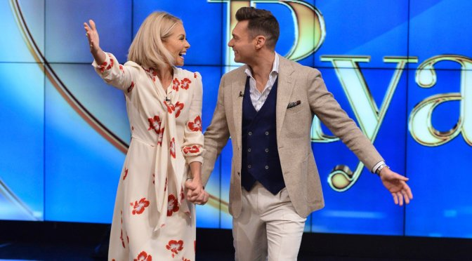 #KellyRipa SUPPORTS co-host #RyanSeacrest amid Sexual Harassment Allegations! [details]