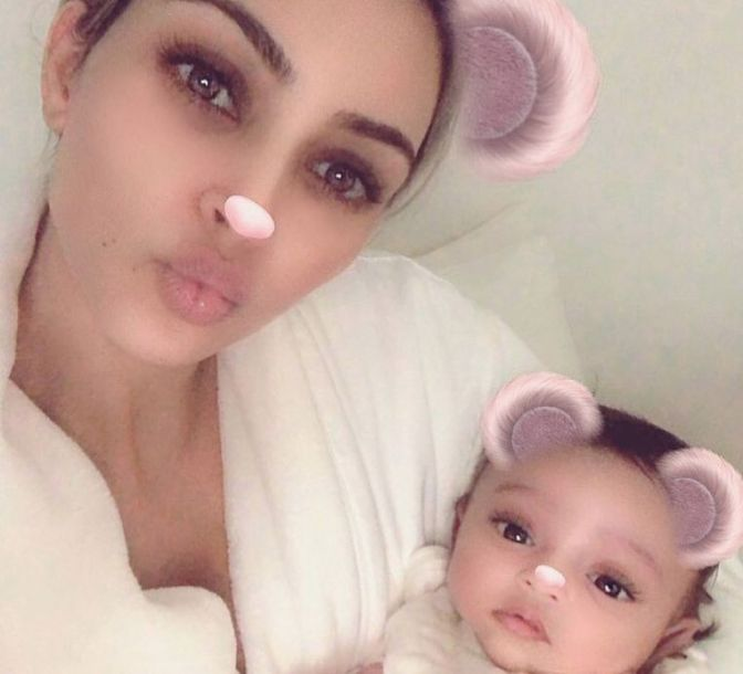 #KimKardashianWest shares NEW pic of #ChicagoWest! [pic]