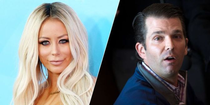 #AubreyODay CONFIRMS she had a SEXUAL relationship with #DonaldTrumpJr! [details]