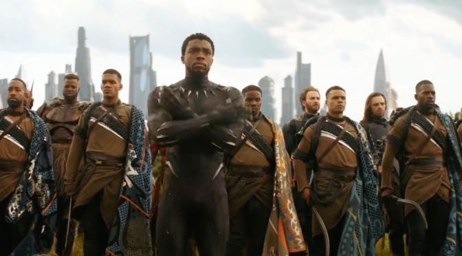 #BlackPanther- 1st film to TOP Box Office for 5 consecutive weeks since #Avatar! BURIES 'Tomb Raider'![details]