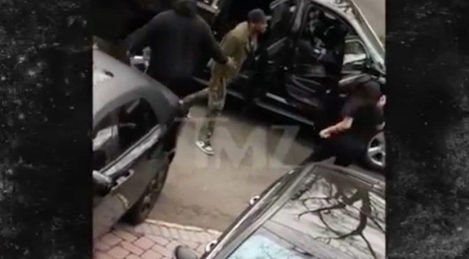 New FOOTAGE released of #Fabolous THREATENNG #EmilyB & her dad with a WEAPON! [vid]