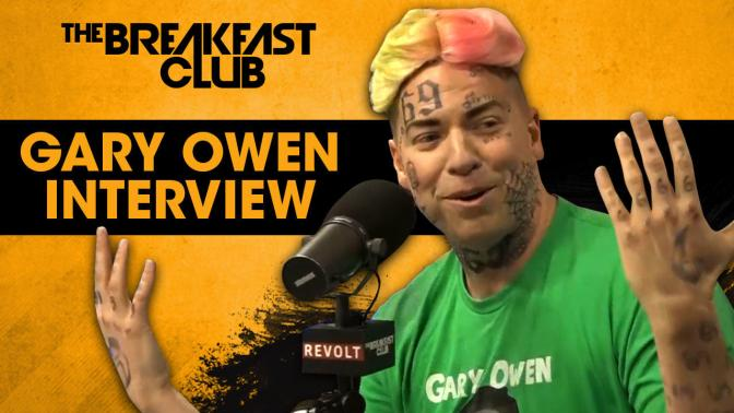 #GaryOwens 'lets his nuts hang' on #TheBreakfastClub– trolls rapper #6ix9ine! [vid]