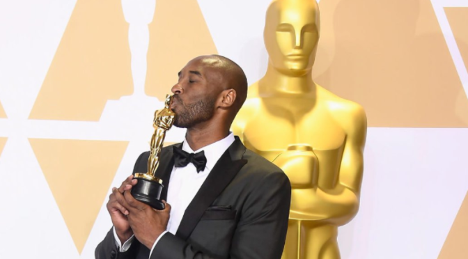 #Oscars: #KobeBryant's 'Dear Basketball' snags 'Best Animated Short' trophy! [vid]