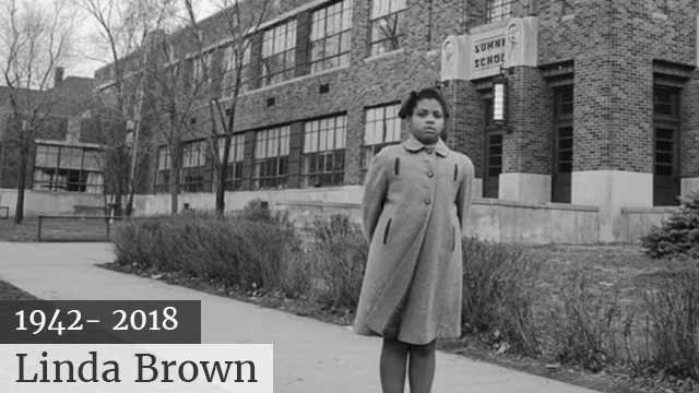 #LindaBrown, the central figure of the Brown v. Board of Education case, has died at 75! [details]