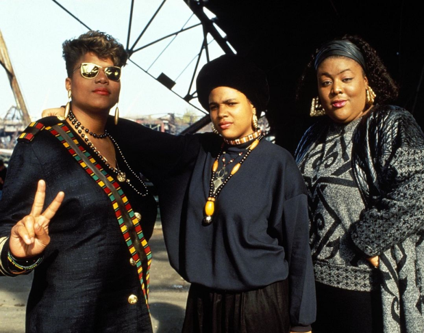 Queen Latifah-MonieLove-MissMelodie-theGamutt