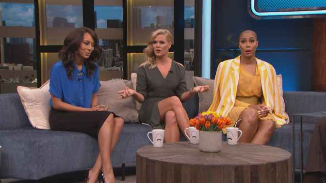 #TamarBraxton & #KeriHilson talk #PORN in RELATIONSHIPS on #SteveHarvey show! [vid]