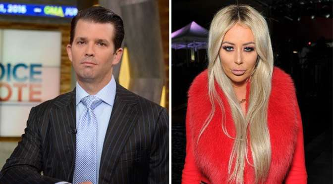 #DonaldTrumpJr ALLEGEDLY had AFFAIR with 'Celebrity Apprentice' star #AubreyODay!? [details]