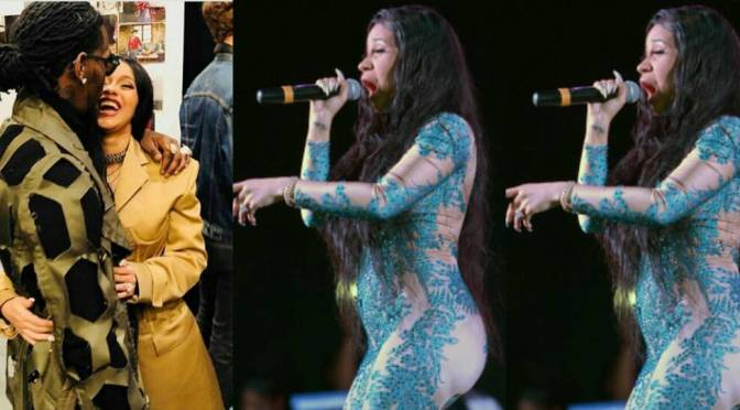 CardiB is indeed PREGNANT! [details]