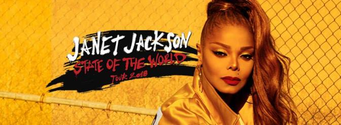 #JanetJackson to hit the ROAD again for #SOTW2018! [pics]