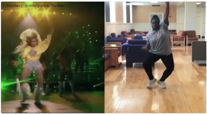 #Briyonce- the teen that MASTERED #Beyonce's Coachella choreo lands on #Ellen! [vid]