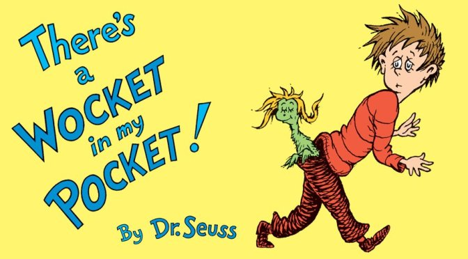 #Migos meets #DrSeus..again! 'Walk It, Talk It'- 'Wocket in my Pocket' [mashup]
