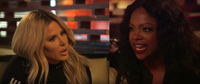 #RHOA NEWS: #KandiBurruss drags #KimZolciak to the 'PITS OF HELL' & back for 'failed spin-off' tweets! Kandi got RECEIPTS! [details]
