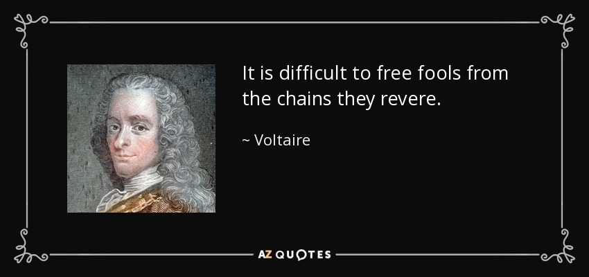 Chains Voltaire The Gamutt Webmag