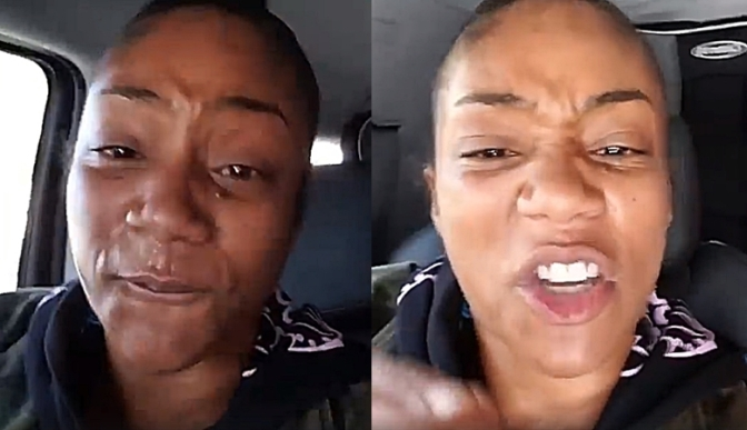#TMZ responds to #TiffanyHaddish's  railing of their cameraman for not helping her with her luggage! [vid]