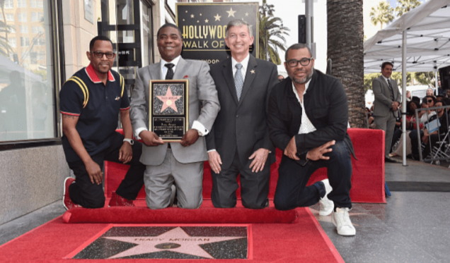 Tracy-Morgan-Receives-A-Star-On-The-Hollywood-Walk-Of-Fame