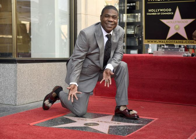 #TracyMorgan gets a STAR on the #HollywoodWalkofFame! [details]