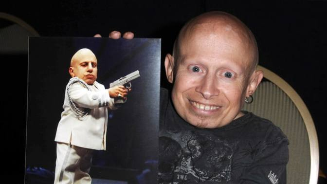 #VerneTroyer 'Mini Me' of #AustinPowers fame has DIED at 49! [details]