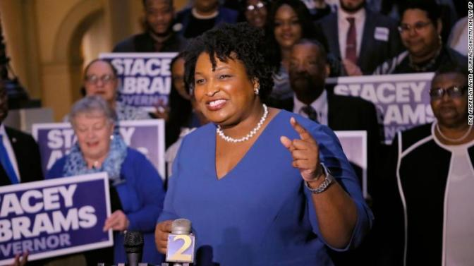 #StaceyAbrams WINS Dem primary in Georgia gubernatorial race! [details]