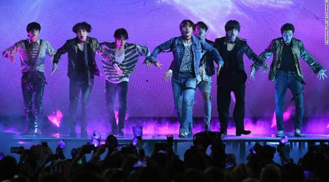 WATCH: #BTS perform 'Fake Love' at #BBMAs! [vid]