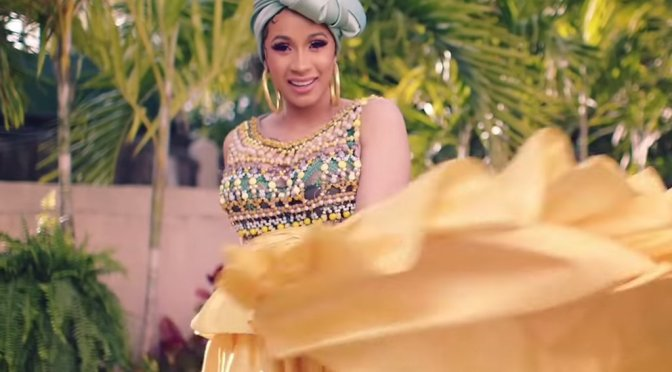 #CardiB TEASES 'I Like It' video! [vid]