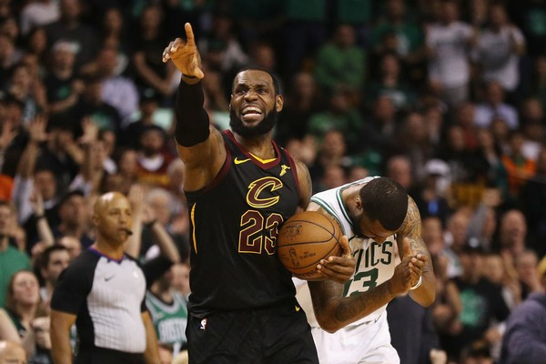 LeBronJames takes the #ClevelandCavaliers back to the #NBAFinals! [details]