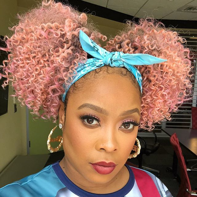 HOT SHOT of the DAY @SoSoBrat with the PINK POWER! [pic]
