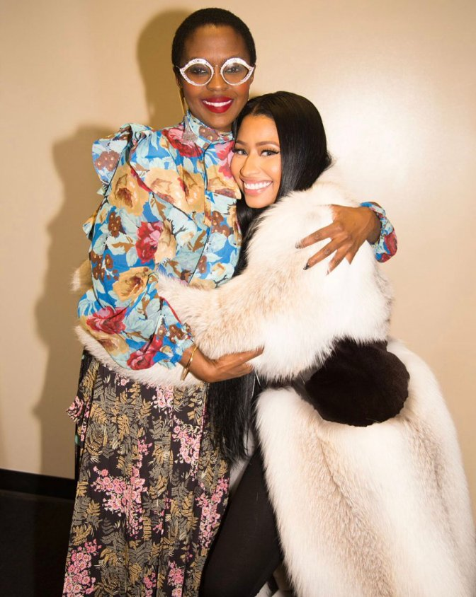 HOT SHOT of the DAY! #LaurynHill x #NickiMinaj! [pic]