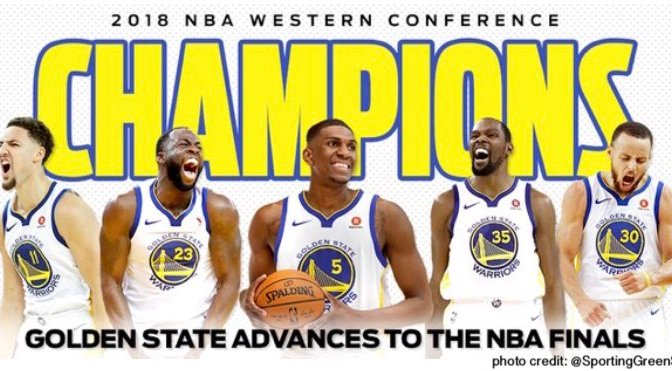 #GoldenStateWarriors headed to #NBAFinals! [details]