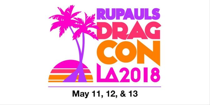 #Rupaul KICKS OFF #DRAGcon 18 in L.A. [vid]