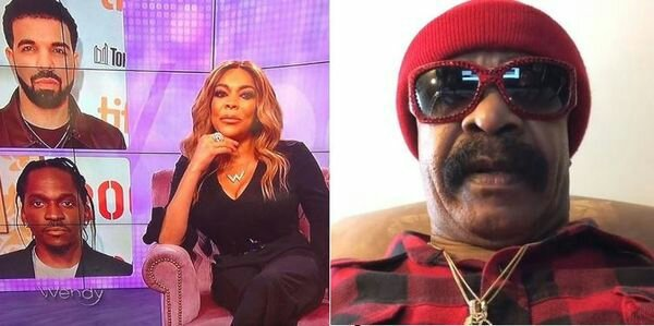 #Drake's dad SLAMS #WendyWilliams for reporting on #PushaT BEEF- Wendy CLAPS BACK! [vid]
