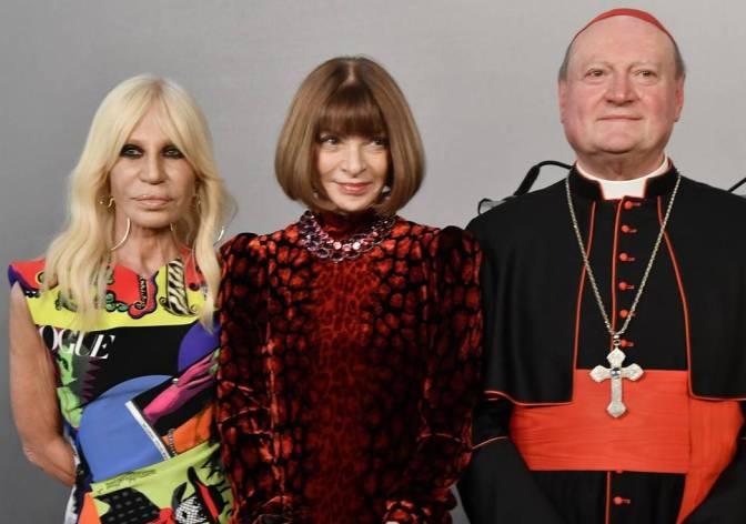 "The #MetGala theme is: ""Heavenly Bodies: Fashion and the Catholic Imagination""[vid]"