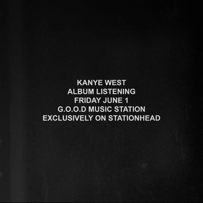 LISTEN: #KanyeWest's NEW ALBUM STREAMING here LIVE tonight! Find out how join in! [livestream]