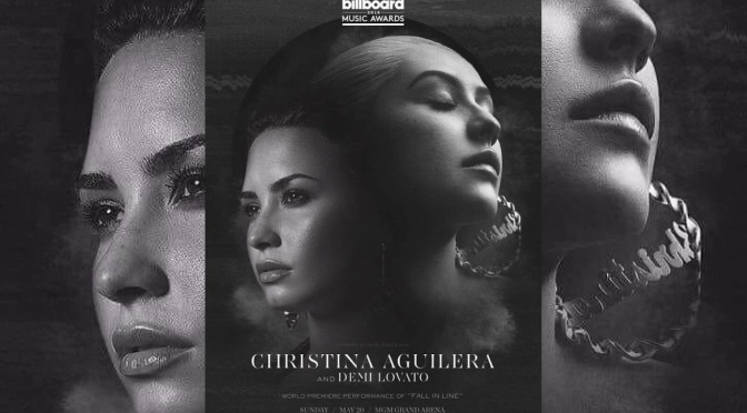 NEW MUSIC: #ChristinaAguilera 'Fall In Line' feat. #DemiLovato [lyric vid]