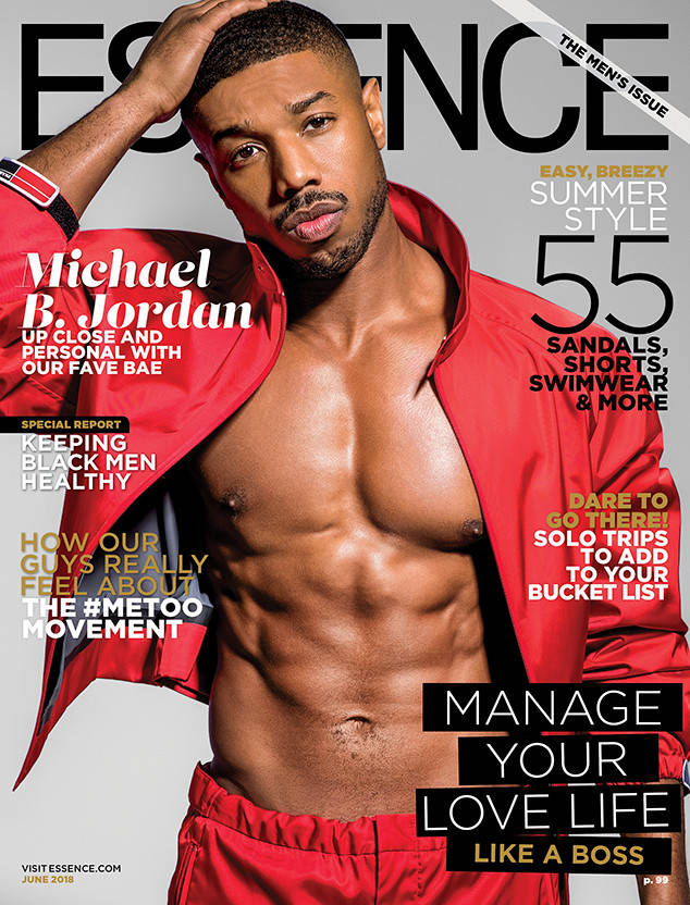 MAG TAG: #MichaelBJordan covers #Essence summer Men's Edition-praises BLACK WOMEN and more! [details]
