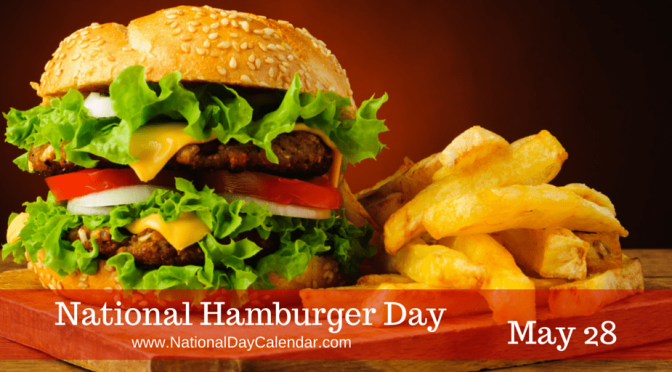 Happy #NationalHamburgerDay! Find our where to get #BURGERDAY DEALS! [details]