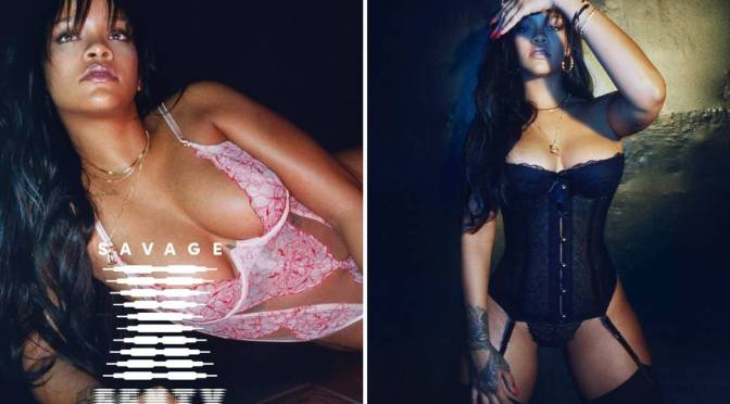 DEMAND for #Rihanna's #SavageXFenty lingerie line BREAKING the Internet! [details]