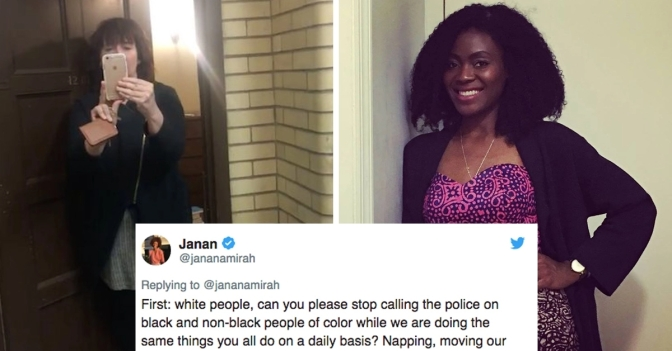 White woman calls police on BLACK #Yale student for SLEEPING in her DORM! [vid]