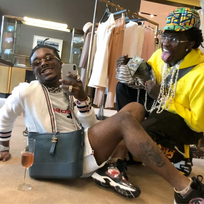 #21Savage calls #YoungThug & #LilUzi 'GAY' after recent PHOTO-OP! [pics]