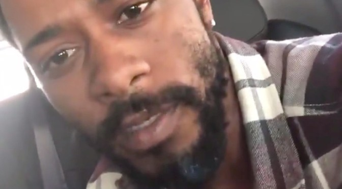 #LakeithStanfield gets 'DONKEY of the DAY' for posting HOMOPHOBIC Freestyle! [vid]