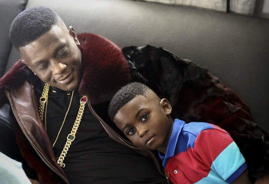 LOL MOMENT: #Boosie combing his son's hair is FUNNY as F! [vid]