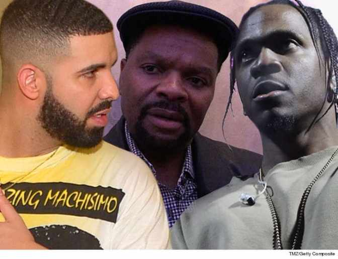 #JPrince CONFIRMS #Drake has a 'career-ending' #PushaT DISS that will never see the light of day! [audio]